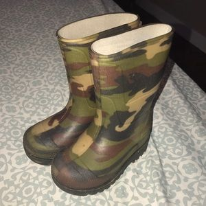 Other - Camo Toddler boots